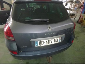 Malle/Hayon arriere pour RENAULT CLIO III ESTATE PHASE 2