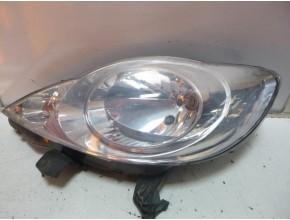 Optique avant principal gauche (feux)(phare) pour PEUGEOT 107 PHASE 1