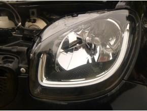 Optique avant principal gauche (feux)(phare) pour SMART FORTWO COUPE